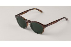 Mr. Boho AG7-11 CIRCULAR GREEN/CHEETAH TORTOISE JORDAAN WITH CLASSICAL LENSES